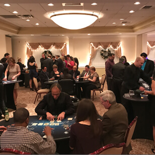 casino game night party